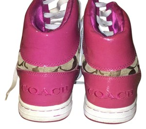 Coach hot pink Athletic