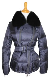 Burberry Winter Fur Down Snow Coat
