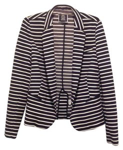 Juicy Couture Stripe Black and White Jacket