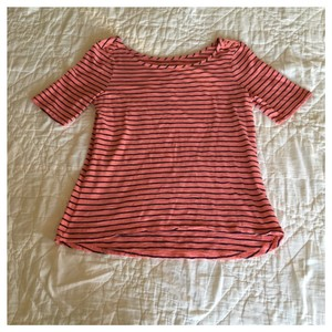 Gap T Shirt Salmon/Navy