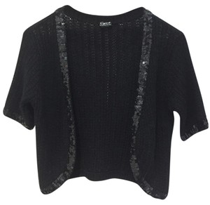 Cejon Acrylic-blend Wool-blend Fits Xs To L Sequin Trim Instant Glam Sweater