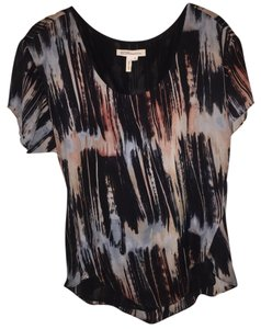 BCBGeneration Top black pink blue white
