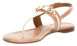 Coach Flat Two-tone Natural Flats