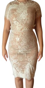 Other Lace Two Piece Set Wedding Bridal Party Dress