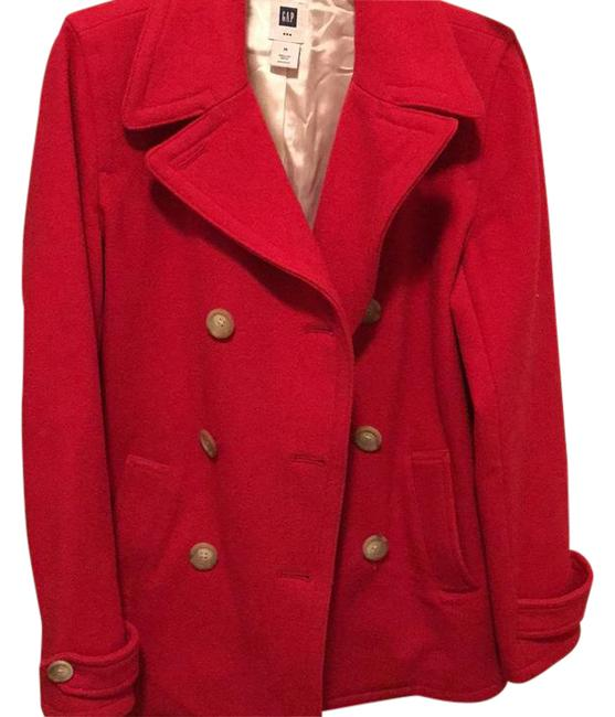 Preload https://img-static.tradesy.com/item/20471241/gap-red-wool-pea-coat-size-10-m-0-1-650-650.jpg