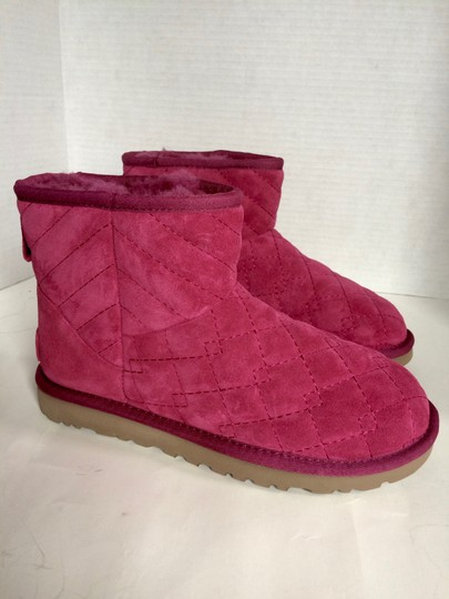 UGG Australia New With Tags Pink Boots Image 3