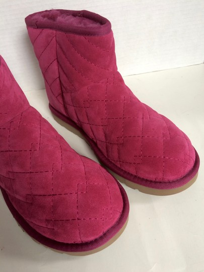 UGG Australia New With Tags Pink Boots Image 4
