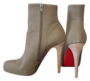 Christian Louboutin Redbottoms Louboutin Cl Platform Olive Boots