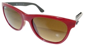 Ray-Ban RB4184 Red Gray Highstreet Sunglasses