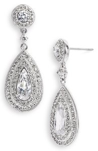 Nadri Nadri Pear Drop Earrings