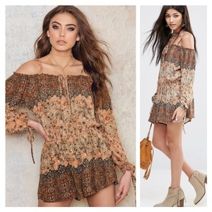 Free People Layer! Tall Boots! Top APRICOT