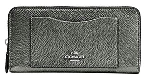 Coach Coach Full Size leather accordion zip wallet