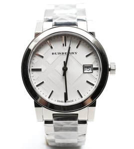 Burberry 'The City' Stainless Steel Bracelet Watch