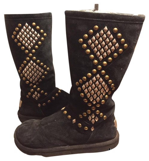 UGG Australia black/silver/brass Boots Image 0