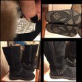 UGG Australia black/silver/brass Boots Image 3