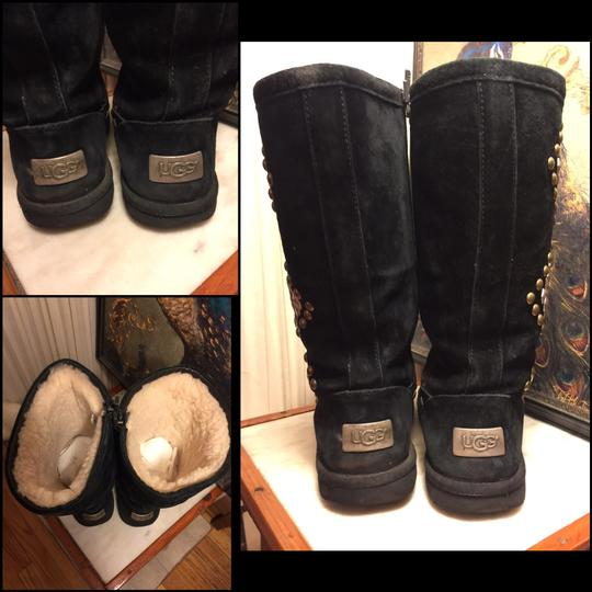 UGG Australia black/silver/brass Boots Image 4