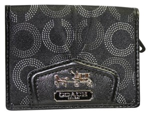 Coach Coach Signature Small Bifold Wallet