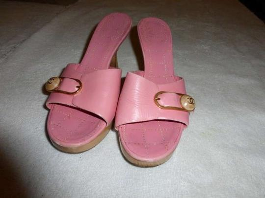 Chanel baby pink Sandals