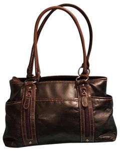 Baggs Brown Black Shoulder Bag