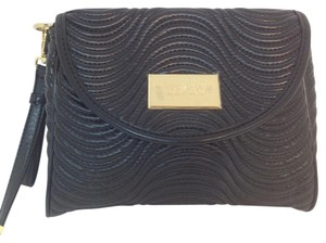 Versace Textured black Clutch