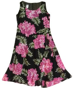 Jones New York short dress Black And Pink on Tradesy