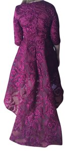 Chic Couture Embroidered Embellished Full Length Ball Gown Gown Dress