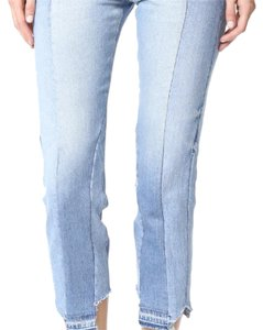 Frame Denim Capri/Cropped Denim-Light Wash