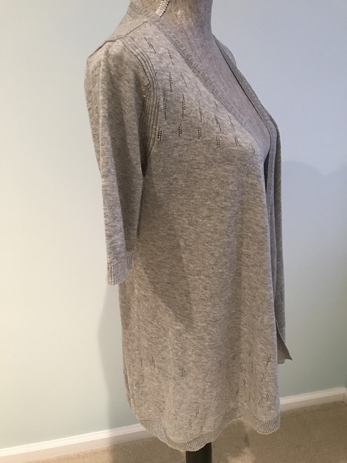 DKNY V-neck Tops Size Small Cardigan Image 2