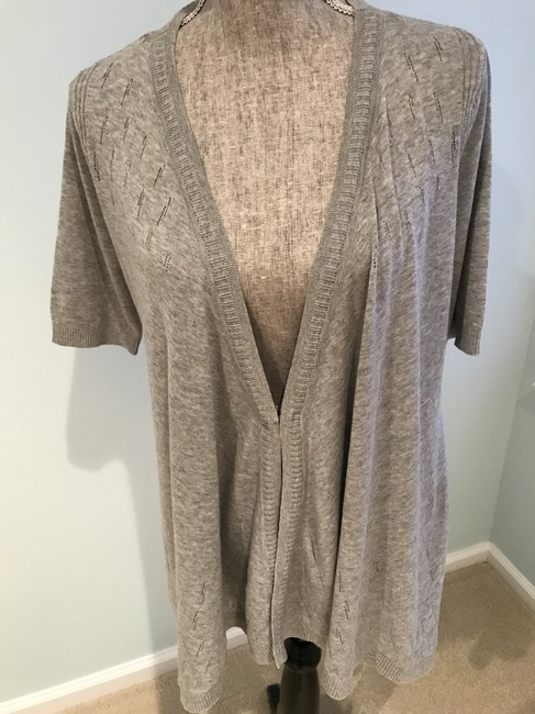 DKNY V-neck Tops Size Small Cardigan Image 3