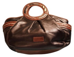 Relic Round Handle Type Tote in Black Brown