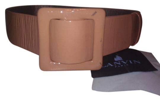 Lanvin New! Lanvin Buckle Leather Belt