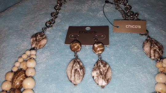 Chico's NWT Chico.s necklace & earrings Image 1