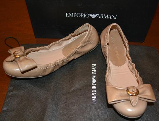 Emporio Armani Sandals Brown Flats Image 3