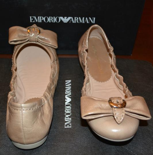Emporio Armani Sandals Brown Flats Image 4