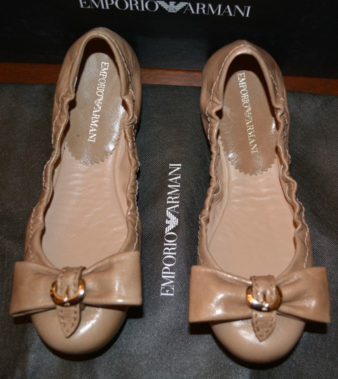 Emporio Armani Sandals Brown Flats Image 5