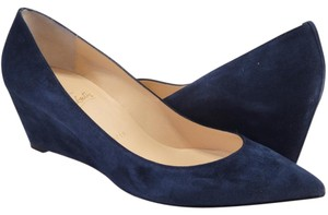 Christian Louboutin Pipina Louboutin 55mm Navy blue Wedges