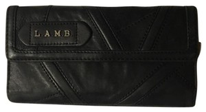 L.A.M.B. quilted leather wallet
