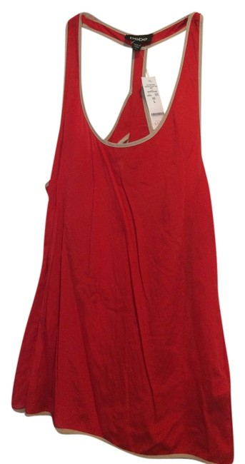 Bebe Top Red/Tan