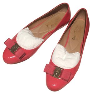 Salvatore Ferragamo morning rose Flats