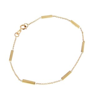 Jennifer Meyer Jewelry Yellow Gold Bar Bracelet