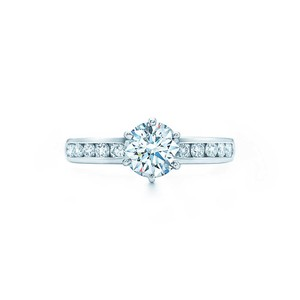 Tiffany & Co. Tiffany & Co diamond engagement ring