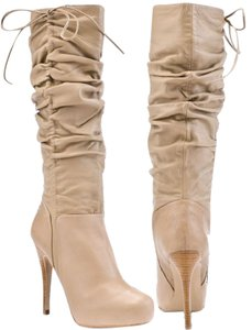 Charles David Taupe/nude Boots