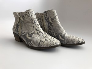 Vince Camuto White, black, grey Boots