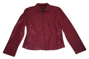 John Paul Richard Pink Red Leather New Red/Pink Leather Jacket