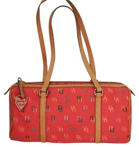 Dooney & Bourke Leather & Monogram Shoulder Bag