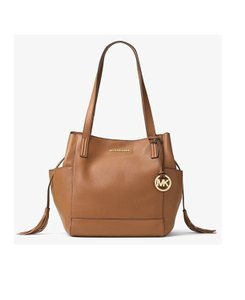 Michael Kors Ashbury Venus Leather Large Shoulder Bag