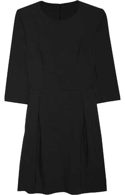 Preload https://item4.tradesy.com/images/iris-and-ink-black-34-sleeve-classic-day-knee-length-workoffice-dress-size-10-m-2047278-0-0.jpg?width=400&height=650
