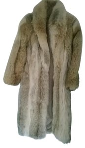 Other Fur Full Length Fox Fur Fur Coat