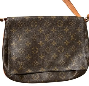 Louis Vuitton Monogram Leather European Shoulder Bag