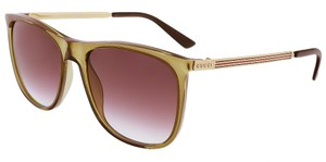 Gucci NWT Case-Gold Gucci Signature Designer Sunglasses Imported From Italy